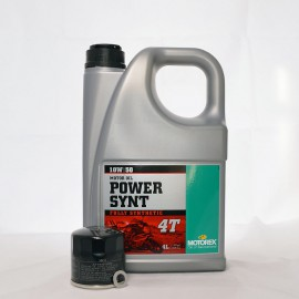 Motorex Power Synt 4T 10W50 Service Kit