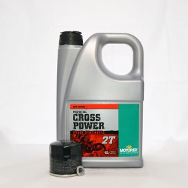 Motorex Cross Power 2T Service Kit